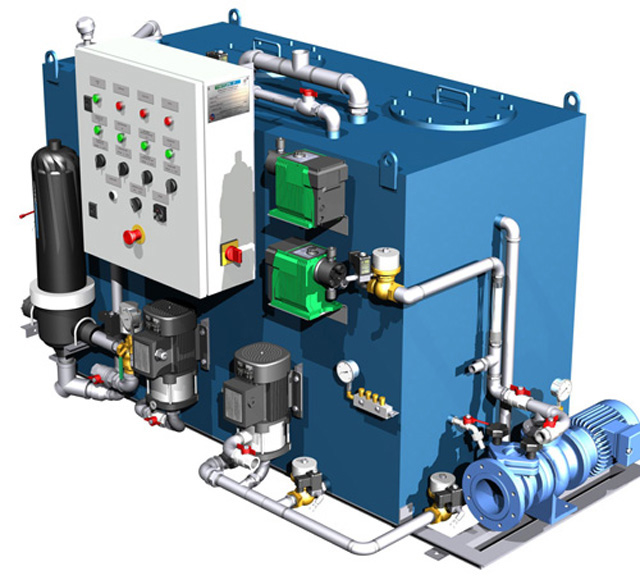 image of Chemical waste water treatment system for ships - Orca III RAL