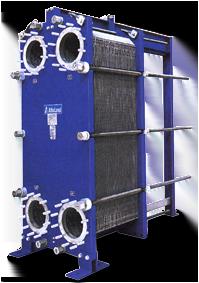 image of Semi-Welded plate heat exchangers