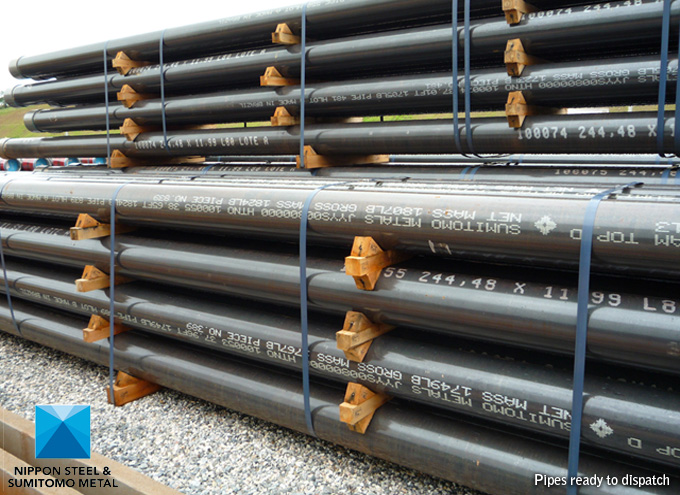 image of OCTG & Line Pipes Ready for Dispatch