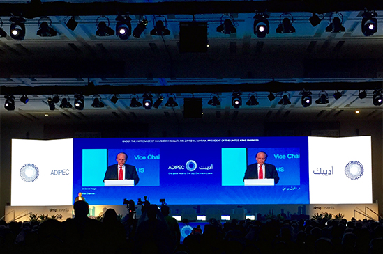 UTS attends ADIPEC opening ceremony and ministerial panel invitation