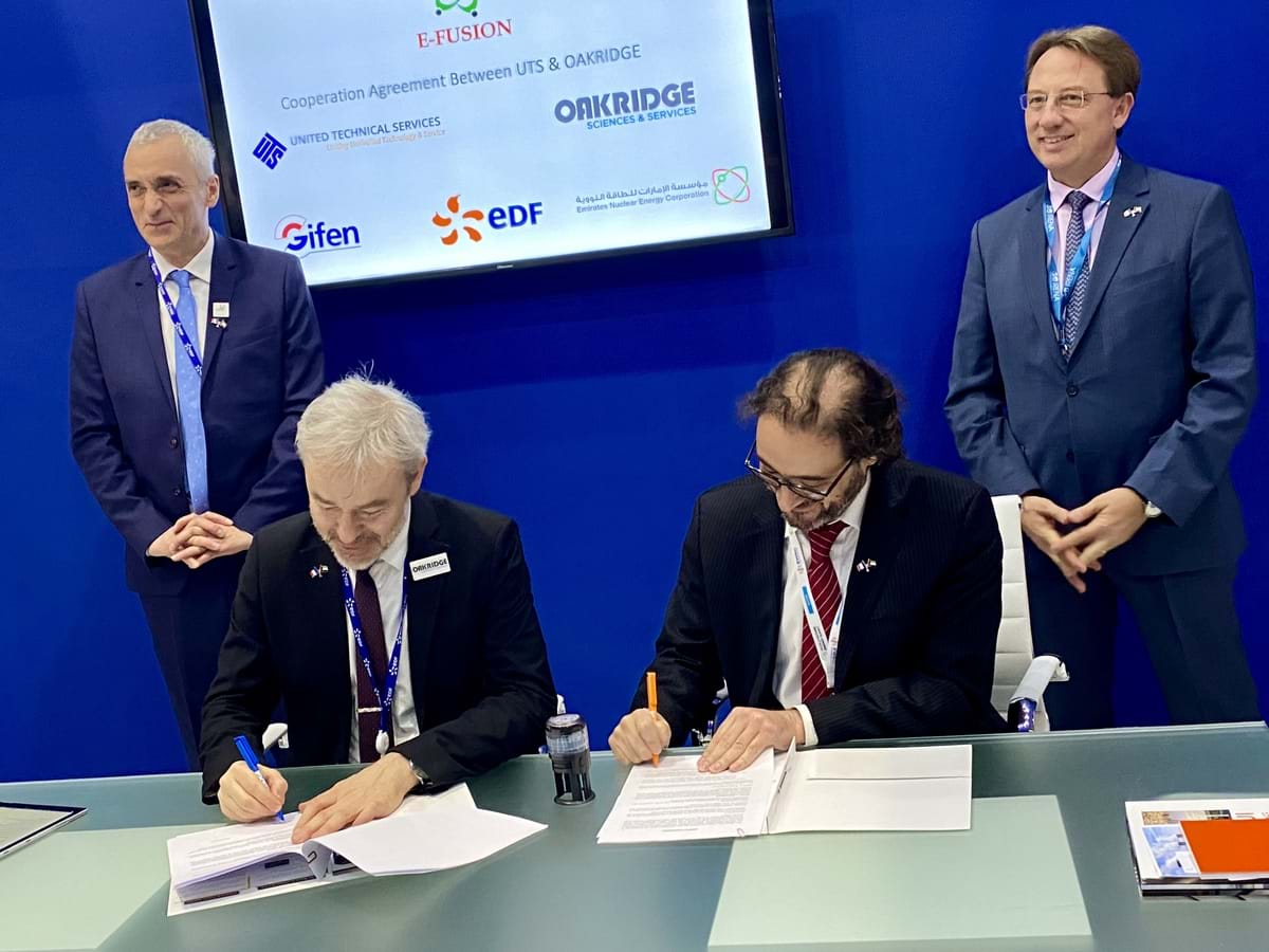 UTS and Oakridge announces its combined partnership for Nuclear industry in the